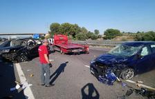 Mor un home francès en un accident entre dos cotxes a l'AP-7 a Constantí
