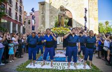 Els pescadors del Serrallo de Tarragona són protagonistes en la processó marinera