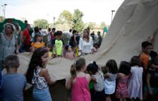 El barri del Vilar de Valls té un nou parc infantil