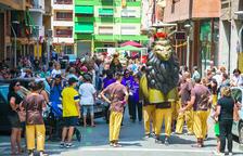 Francesc Bastos y alrededores vive el tradicional seguici procesional