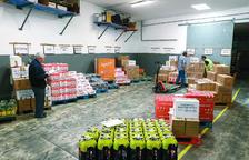 El Banc dels Aliments duplica les entregues i tancarà del 5 al 31 d'agost