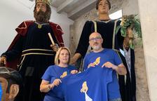La Geganta protagoniza la camiseta de la Fiesta Mayor de Montblanc