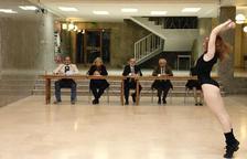 L'escola de Cinema de Reus converteix la Llotja en l'escenari d'una nova Flashdance