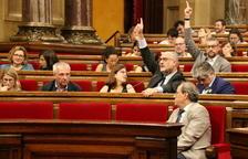 El Parlament insta el Govern a presentar en un mes les ajudes pels afectats de l'incendi de la Ribera d'Ebre