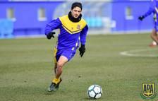 Jonathan Pereira reforça la davantera del Nàstic