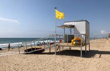 Rescaten del mar una banyista que es trobava inconscient a la platja de Calafell