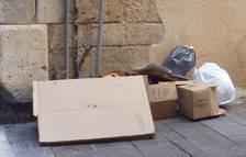 El sistema de recollida de la Part Alta de Tarragona crea diversos «punts negres»