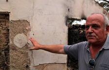 Pagès afectat pel foc de la Ribera: «Cada dia que passa, és un any de producció que perdem»
