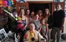 La vallenca Maria Boronat celebra els seus 100 anys
