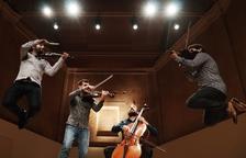 Aupa Quartet llevará su innovación al Auditori Pau Casals del Vendrell