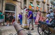 El canó de les festes de Sant Roc dispara renovat després de 110 anys