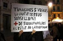 Fins a 338 llars vulnerables no poden fer front als rebuts de la llum a Reus