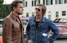 Brad Pitt y Leonardo DiCaprio en una de las escenas de 'Érase una vez en... Hollywood' de Quentin Tarantino.