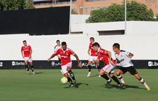 Prova fallida d'un Nàstic que tanca la pretemporada amb derrota contra el Mestalla (3-1)