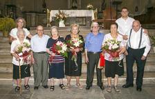 Alcover ret homenatge a la gent gran  que viu al municipi per Sant Roc