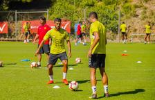 Maloku, Abeledo i Cuenca, pendents de sortir a punt de l'inici de la Lliga