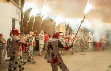 Reus Cultura estudia l'ús de lones ignífugues a les botigues pels actes de foc