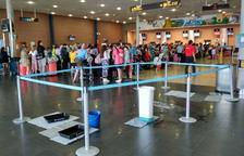 La pluja sobre l'Aeroport obliga a desviar un vol de la ruta Stansted-Reus