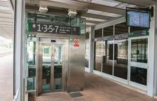 L'ascensor de l'estació de tren de Reus es troba inoperatiu des de principis de mes
