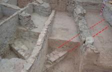 Encuentran restos de un espacio arquitectónico bajo medieval en Ascó