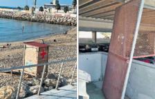 Dos puestos de socorro de Cruz Roja del Miracle sufren actos vandálicos