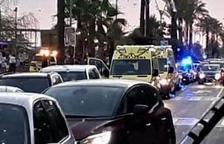 Fins al lloc s'han desplaçat nombrosos cossos d'emergències.