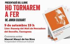 Marcel Mauri participará en la presentación del libro de Jordi Cuixart 'Ho tornarem a fer' en Tarragona