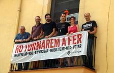 Suspenen l'acte d'il·luminar les agulles de Montserrat per la previsió de pluja