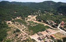 Prades posa a la venda 12 parcel·les de la urbanització les Forquetes