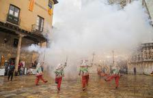 Los Diables Foc i Gresca y la feria de entidades, protagonistas de la Diada en la Part Alta