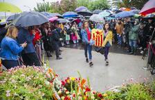 Puig apela al «sacrificio» de los presos en una Diada marcada por la lluvia