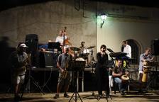 Imagen de archivo de un concierto de jazz en Salomó.