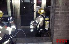 Incendi en una botiga de queviures a Torreforta