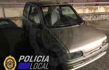 Recuperen un cotxe robat al Vendrell fa prop d'un mes