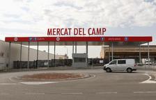 Culmina la construcció del nou sistema d'accés del Mercat del Camp