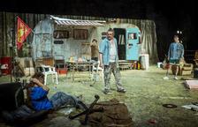 Imagen de 'Jerusalem', el montaje transgresor dirigido por Julio Manrique.