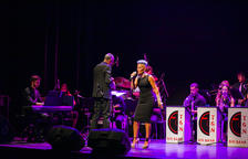 Aretha Franklin i Stevie Wonder sonen al Metropol