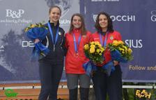 Mar Molné con la medalla de oro.