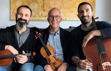 El Trio Claret abre la nueva temporada de 'Concerts a la Cripta de l'Ermita de Cambrils'