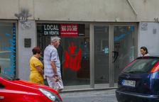 El centro de Tarragona y la Part Alta tienen 1.120 locales comerciales vacíos