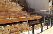 Compromiso para acabar las obras de las gradas del circo de Tarragona antes de 2020