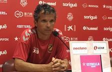 Xavi Bartolo y el equipo han encarado la semana con optimismo después de la victoria contra el CD Ebro.