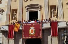 Polémica en Tarragona por la retirada de la estelada del balcón del Ayuntamiento