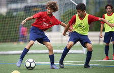 Mas Pellicer inicia la temporada a la Barça Academy de Tarragona