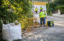 El mal estado de algunas calles provoca desazón entre los vecinos de Cala Romana