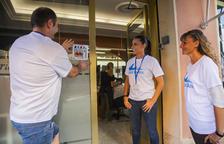 Nuevos pictogramas de Todos en Azul en calles de Torreforta