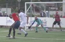 El reusenc d'origen marroquí El Haddaoui, lidera Espanya a l'Europeu de futbol per a cecs