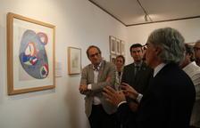 Torra celebra la recuperació d'un «tros de la memòria perduda» en la inauguració de la 'Galerie Mirador de París' al Vendrell