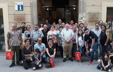Los ganadores de la campaña 'Barris Antics' visitan l'Arboç