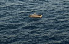 Rescaten un tripulant d'un patinet a la deriva que havia bolcat a Coma-ruga